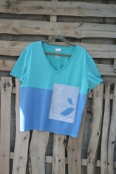 green top blue bottom possibilities patch Lg - XL $30 BUY ME!