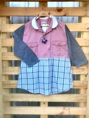 $30 Size:XL Garment Code L 3 Crisp Cotton 3/4 Sleeve Shirt BUY ME!